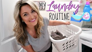 MY SIMPLE LAUNDRY ROUTINE FOR 2018 | LAUNDRY HACKS  | Cook Clean And Repeat