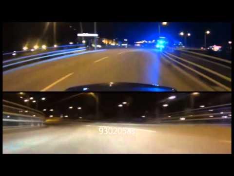 HIGHWAY 2 C63 AMG VS SWEDISH POLICE BEST CHASE