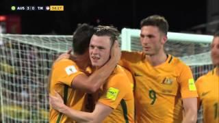 Australia vs Tajikistan: 2018 FIFA WC Russia & AFC Asian Cup UAE 2019 (Qly RD 2)
