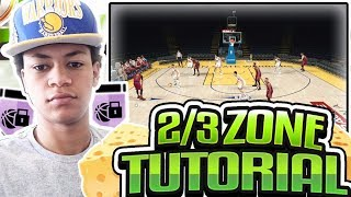HOW TO RUN THE 2-3 ZONE DEFENSE! BEST DEFENSIVE SETTINGS FOR ZONE IN NBA 2K18 ONLINE AND MYTEAM!