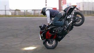 Suzuki Hayabusa Stunt