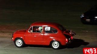 Fiat 600 vs Bora 1.8T - El mejor CAZABOBO !!