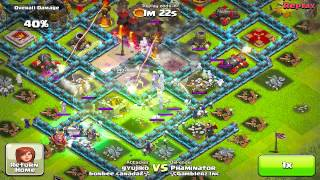 Clash of clans - Champ league gameplay
