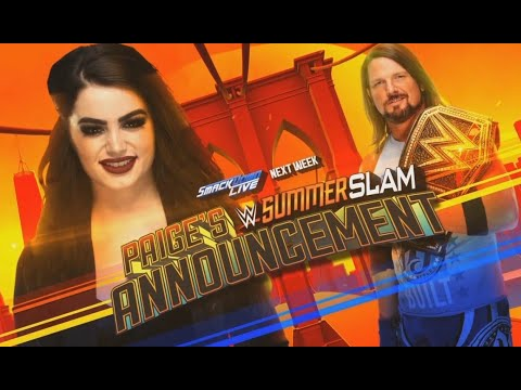 Xxx Mp4 Who Should AJ Styles Face At WWE SummerSlam 2018 3gp Sex