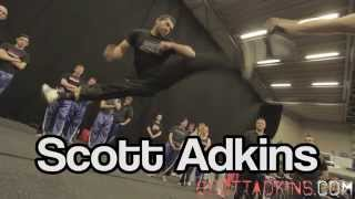 Martial Arts Show UK Seminar Scott Adkins & Ginger Ninja Trickster