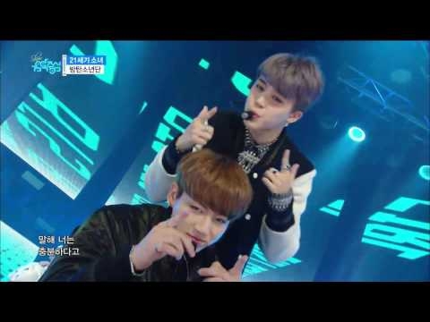 【TVPP】BTS 21st Century Girls 방탄소년단 – 21세기 소녀 Show Music Core