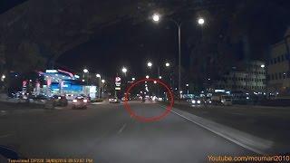 الحمد لله على السلامة .. حادث سيارة غريب حصل أمامي ولم يفصلني عنه إلا ثواني