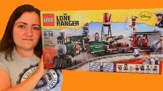 LEGO Constitution Train Chase 79111 Disney Lone Ranger LEGO Review