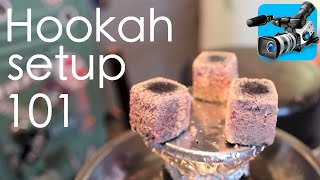 Hookah 101: Setting up your hookah
