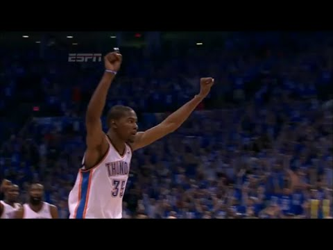 All Kevin Durant Game Winners & Clutch Shots (2008-2015)