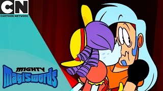 Mighty Magiswords | Over Friendly Ghost | Cartoon Network
