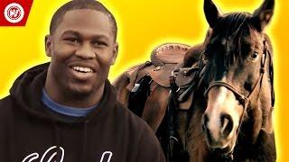Justin Forsett Faces His Fear of Horses | NFL