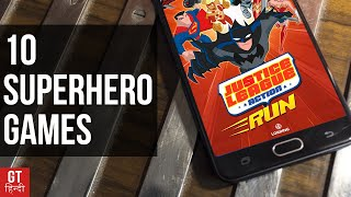 Top 10 Super Hero Games for Android (DC+Marvel)