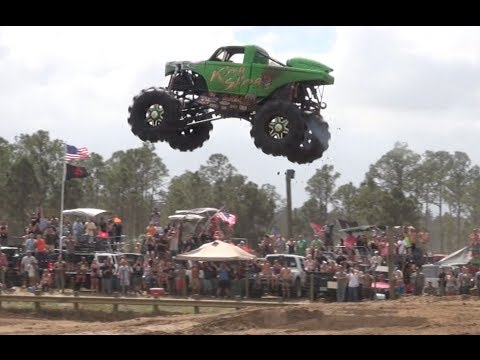 Redneck Yacht Club Mud Park Truck Races. Part 1