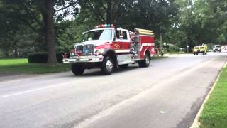 Champaign Fire Department 150th Anniversary Fire Muster & Parade