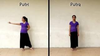 تعليم رقص هندي خطوة بخطوة مع اغنية جميلة رووووووووووعة