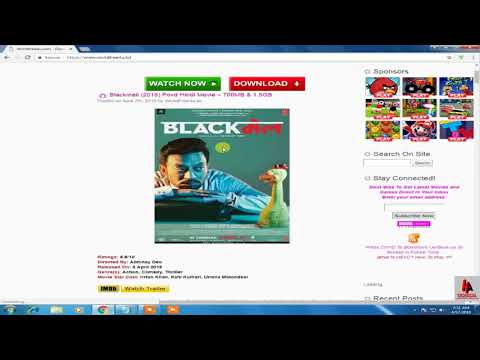 TOP 5 Websites By HA Technical To download New Released Bollywood Movies.