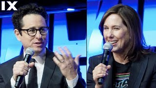 Kathleen Kennedy and JJ Abrams FULL Interview - Star Wars Episode 9