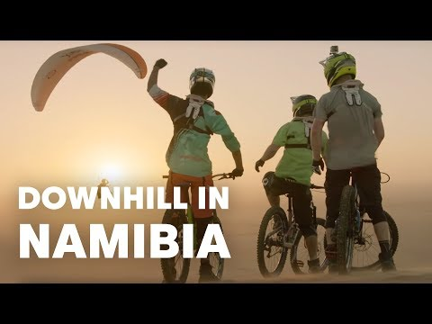 Downhill Mountain Biking in the Wilds