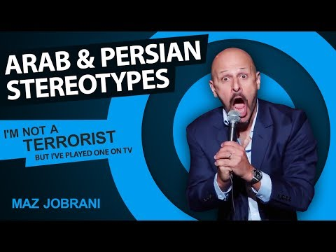 Xxx Mp4 Arab Persian Stereotypes Maz Jobrani I M Not A Terrorist But I Ve Played One On TV 3gp Sex
