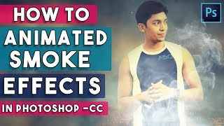 1 Click Animated Smoke Effect Photoshop Actions Free Download and use NOW