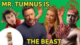 Mr. Tumnus is The Beast?! James McAvoy & Anya Taylor-Joy on Glass
