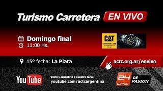 15-2016) La Plata: Domingo Series TC y Finales