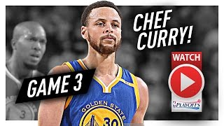 Stephen Curry Full Game 3 Highlights vs Trail Blazers 2017 Playoffs - 34 Pts, 8 Ast, Chef Curry!