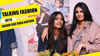 Sonam Kapoor and Rhea Kapoor talk about fashion & their clothing line  | Fashion Trends | Pinkvilla