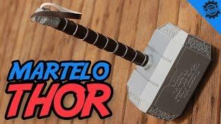 Como Fazer o Martelo do Thor (Mjolnir)