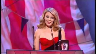 Kylie Minogue introduces The Inbetweeners - British Comedy Awards 2011