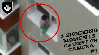 5 Shocking Moments Caught On Camera #1