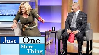 I thought you took your bra off! || STEVE HARVEY