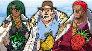 die NEUEN ADMIRÄLE in One Piece!