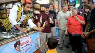 Smooth Tricks of a Turkish Ice Cream Parlor
