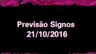 Previsão todos os Signos 21/10/2016 - A Magia do Tarot