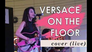 Versace on the floor (Live) By Bruno Mars   Angelica Feliciano