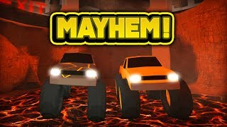 MONSTER TRUCK MAYHEM! (ROBLOX Jailbreak)