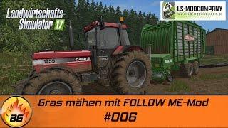 LS17 - Hof Bergmann #006 | Gras mähen mit FOLLOW ME Mod | Let's Play [HD]