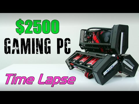 2500 Ultimate Gaming PC Time Lapse Build