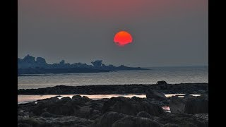 Sun Turns Red In The UK