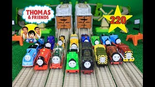 THOMAS AND FRIENDS THE GREAT RACE #220 TrackMaster BIGGEST Race|Thomas & Friends Toy Trains
