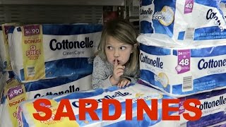 SILLY SARDINES AT WALMART | HIDE AND SEEK!