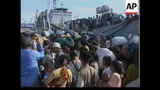 Dayak Sampit dan ngaju Evakuasi