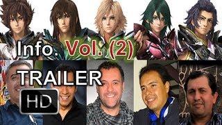 Caballeros del Zodiaco: leyenda del santuario - Trailer Latino vol. 2 - elenco confirmado