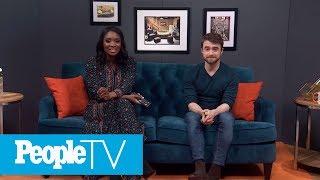 Daniel Radcliffe On The Bus Scene In 'Swiss Army Man' | PeopleTV