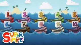 10 Little Sailboats | Kids Songs | Super Simple Songs
