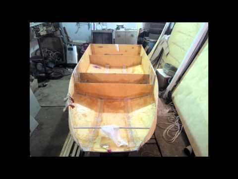 складывающаяся лодка из фанеры