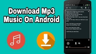 How to Download Mp3 music On Android Bangla Tutorial