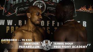 Ring of Fire 3 - Paris - COMBAT -70kgs (Jean Loua VS. Djibril Diouf)